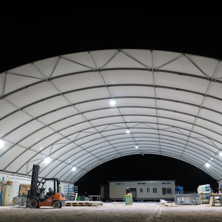 dome construction bay