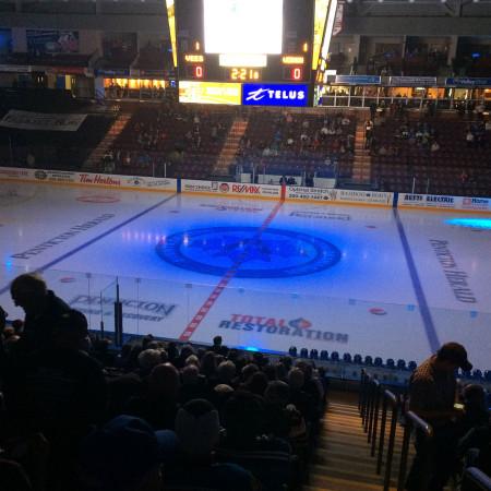 Hockey Arena Dark